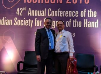 Dr. Ravi Mahajan, Chief Plastic, Cosmetic & Microvascular Surgeon at 42nd national conference