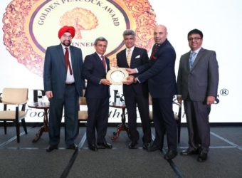 InterGlobe Technology Quotient bags Golden Peacock Award for Risk Management 2018