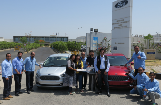 New Ford Figo and New Aspire Donation to Neeva Foundation At Ford Plant ...