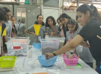 Students from 10 schools participated in the Meal Packaging session organized by RAHI, over 3000 meals were packed.