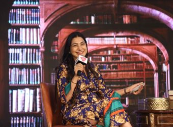 Shunali Khullar Shroff at Sahitya Aajtak 2019 by India Today Group