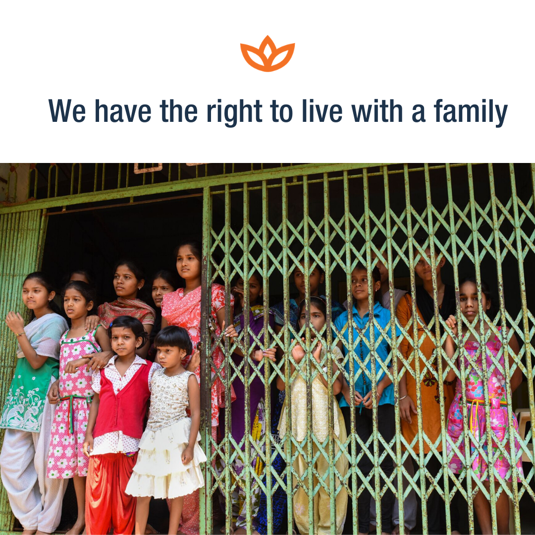 We have the right to live with a family (1)