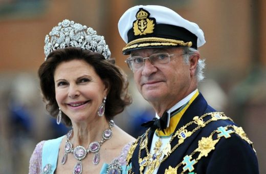 Queen Silvia of Sweden-King Carl XVI Gustaf