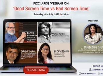 FICCI to organise Webinar on Good Screen Time Versus Bad Screen Time