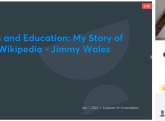 Jimmy Wales' Live Class on Unacademy